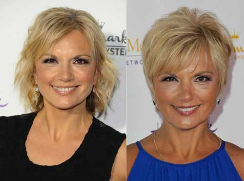 Nice Short Hair Styles Ideas For Over 50