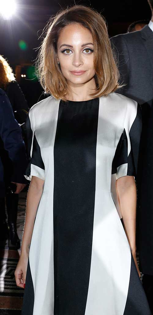 Nicole Richie Bob Cut Ideas