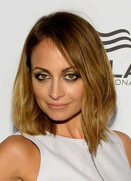 Nicole Richie Simple Bob Haircuts