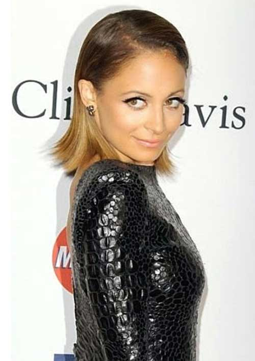 Best Nicole Richie Slicked Bob