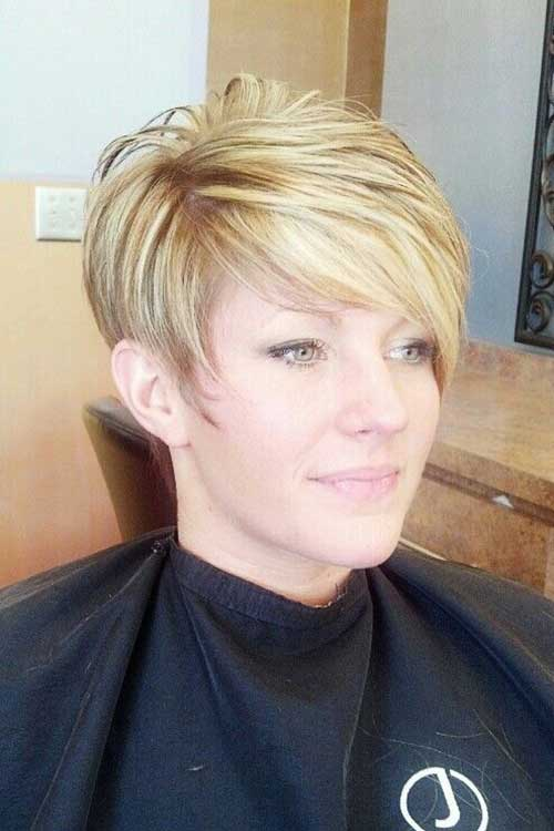 Straight Pixie Cuts for Over 50