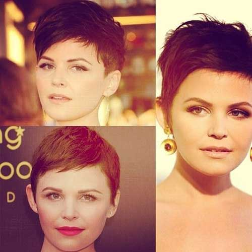 New Pixie Cuts for Round Faces