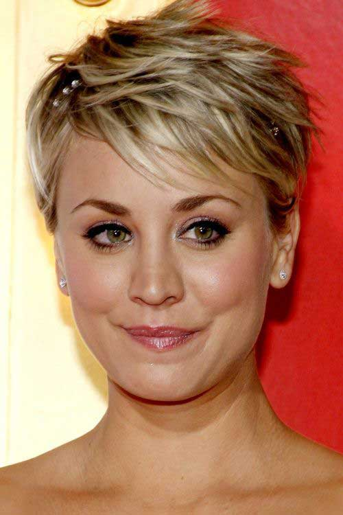 Layered Pixie Hair Short With Crown