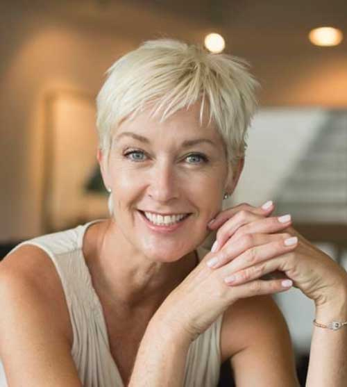 Nice Pixie Haircuts for Fine Hair Over 50