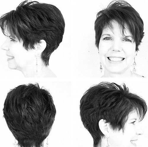Best Pixie Haircuts for Women Over 50