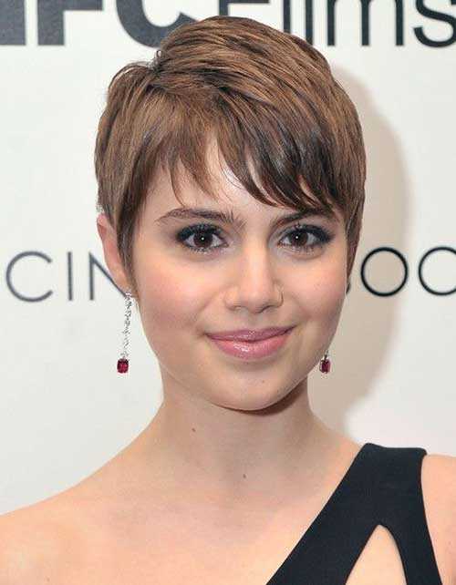 Straight Pixie Hairstyles 2015