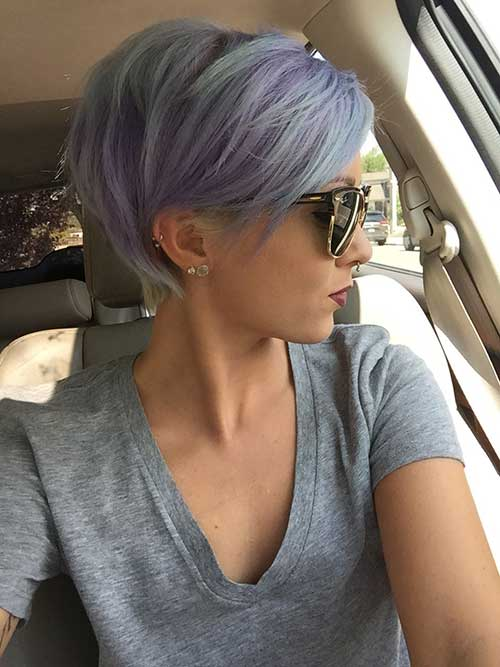 Dyed Pixie Hairstyles