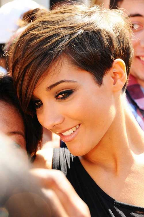 Shaggy Long Pixie Cut Straight Hairstyles