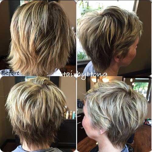 Shaggy Long Pixie Haircut
