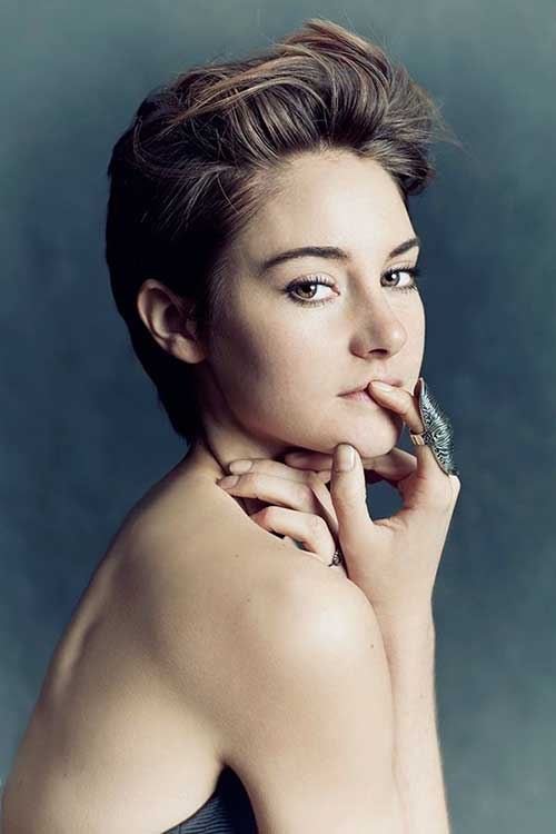 Shailene Woodley Short Hairstyle