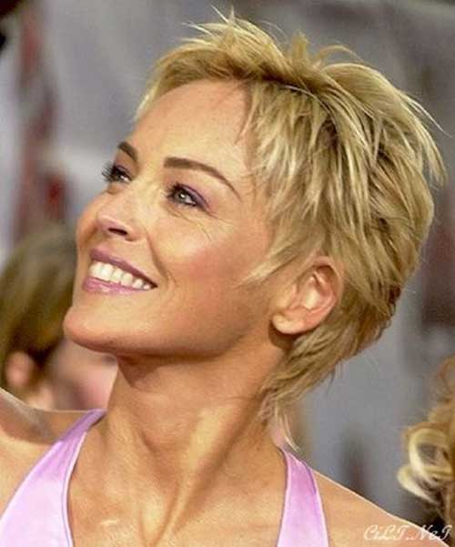 Pics Photos - How To Cut Sharon Stone Hair To Download How