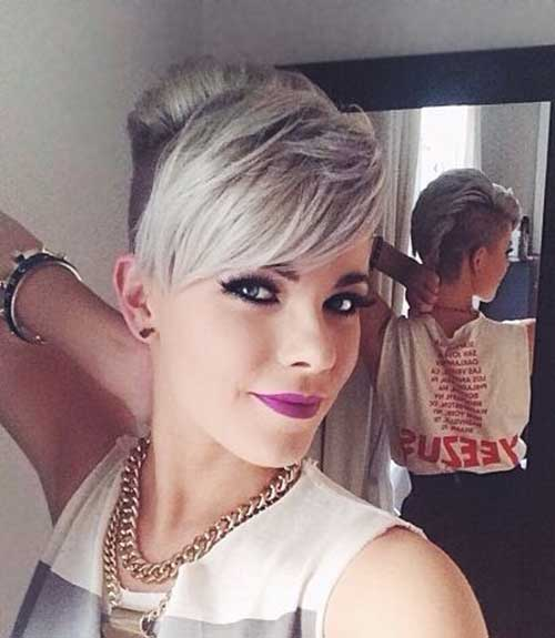 Shaved Pixie Haircuts 2015