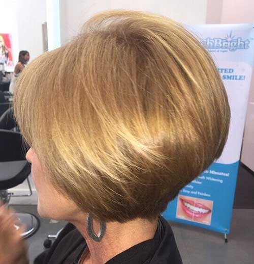 Short Blonde Hairstyles for Women Over 40