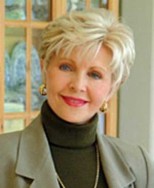 Short Casual Hair Styles For Over 50