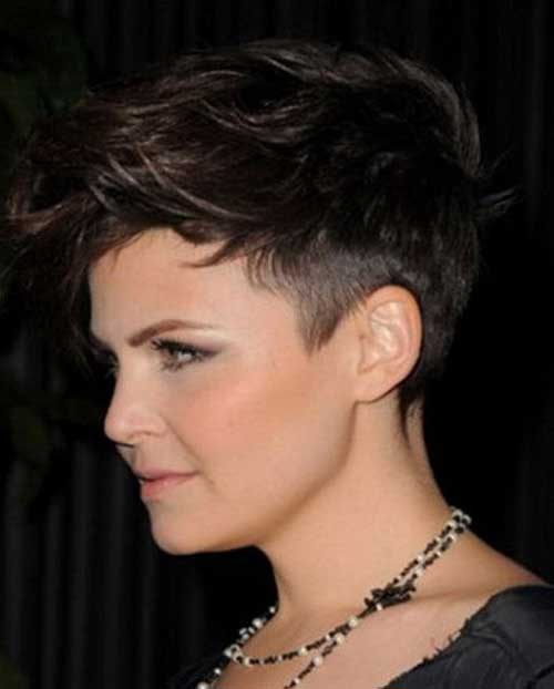 Short Edgy Dark Haircuts
