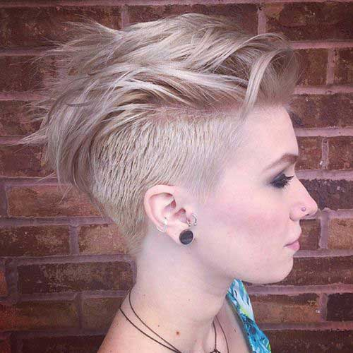 Best Edgy Short Haircuts  Short Hairstyles 2016  2017  Most Popular