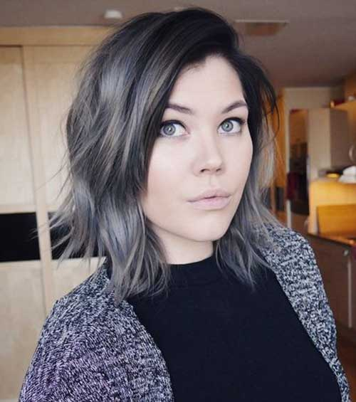 Short Grey Hair