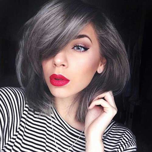 Short Grey Hair Styles