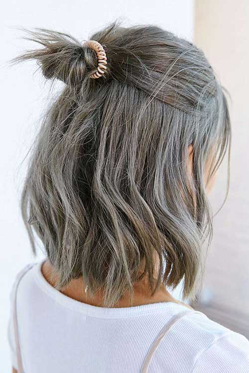 Short Grey Haircuts