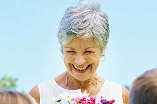 Short Grey Haircuts Ideas for Older