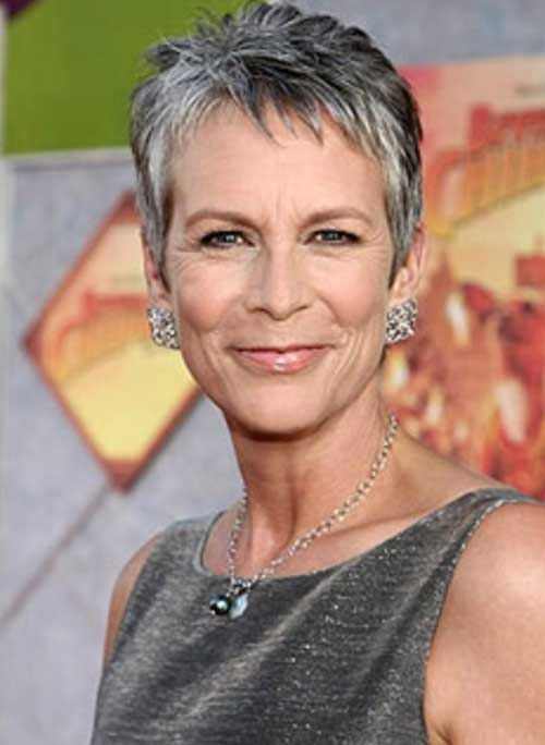 Short Grey Pixie Styles For Over 50