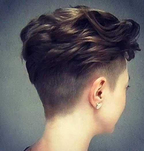 Short Dark Haircut For 2015