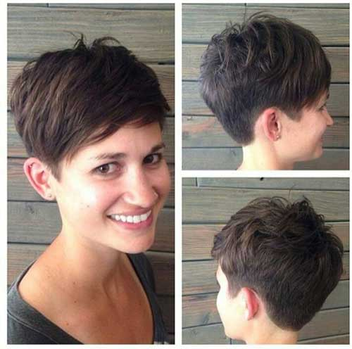 Best Short Hairstyles For Thick Straight Hair Short Hairstyles