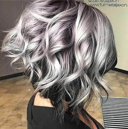 Short Haircuts for Grey Hair
