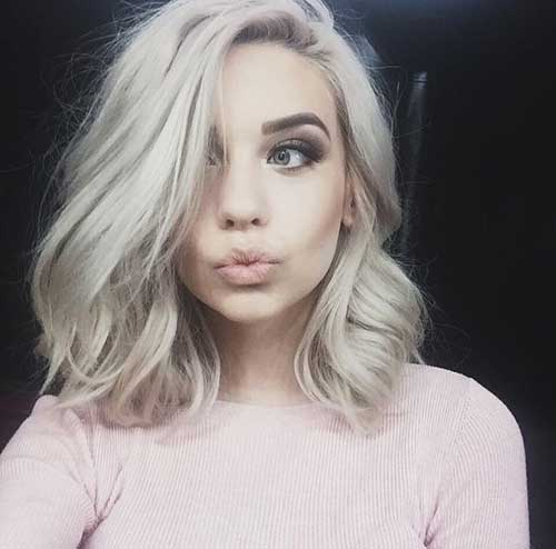 Short Hairstyles for Wavy Blonde Hair 2014