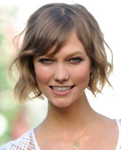 10 Short Hairstyles For Thin Wavy Hair Short Hairstyles 2018