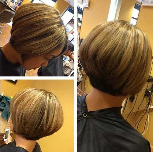 Short Layered Bob Cut Hairstyles