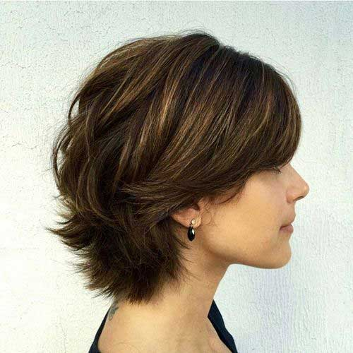 Pictures Of Medium Hairstyles For 2017 : Short haircuts with layers hairstyles