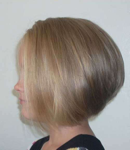 Short Stacked Layered Bob Hairstyles For Fine Hair