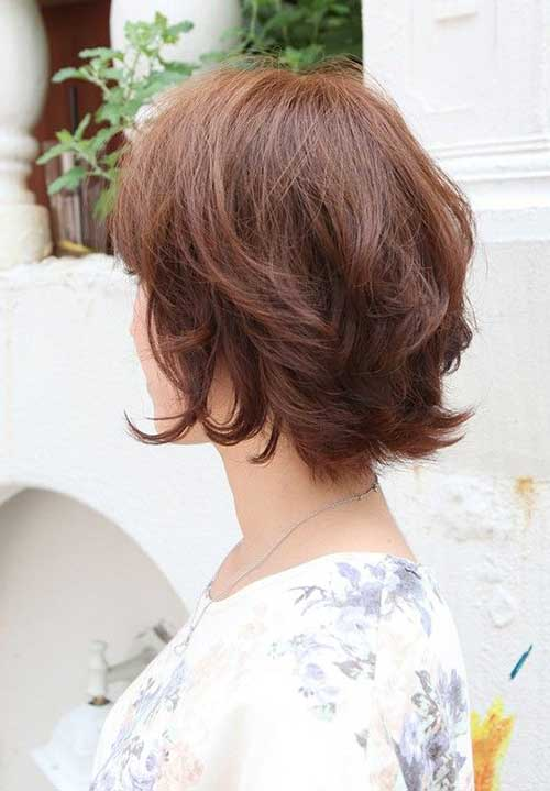 Short Layered Female Haircuts