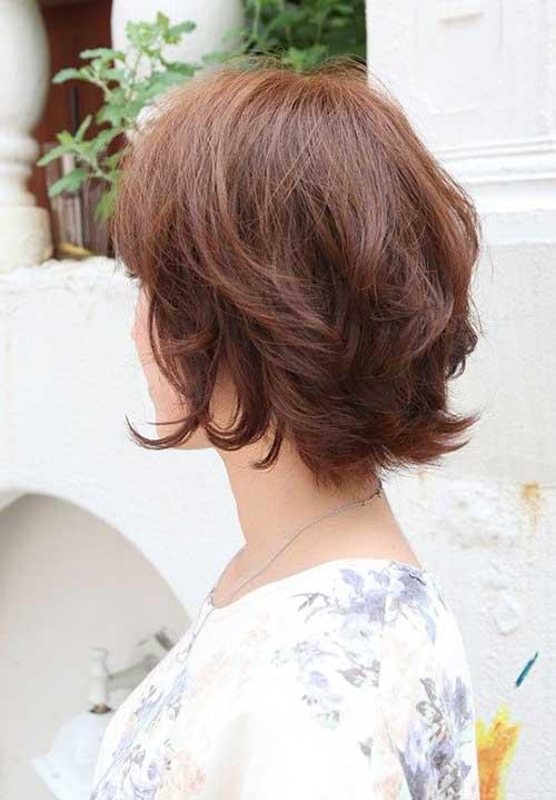 Short Layered Female Haircuts