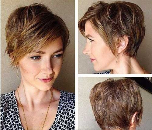 Short Layered Haircut For 2015