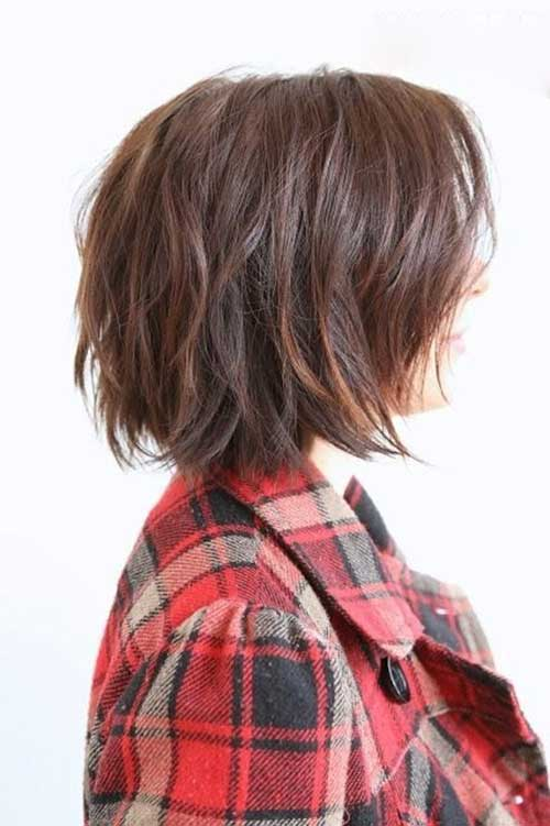 15 Short Layered Haircuts For Wavy Hair Short Hairstyles
