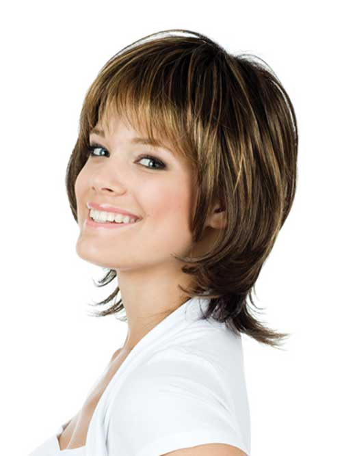 Short Layered Haircuts For Women 2015