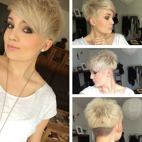 Layered Short Pixie Haircuts