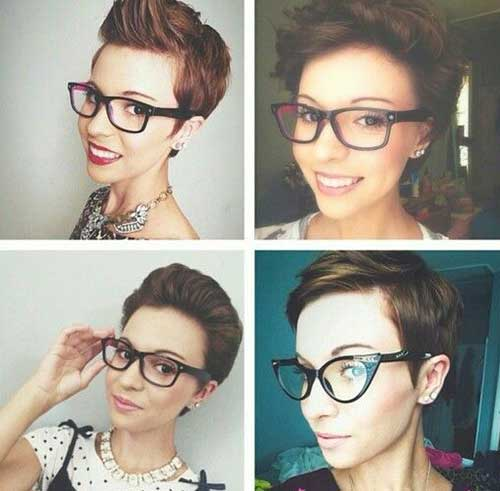 Short Pixie Hair Style Ideas