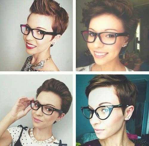 Short Pixie Hair Style Ideas