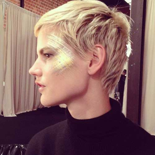 Short Pixie Layered Haircuts