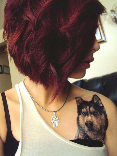 Short Red Hairstyles for Girl