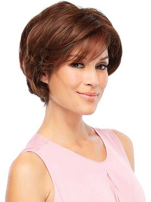 Short Straight Haircut For 2015