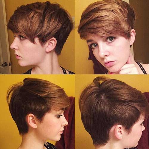 New Short Trendy Hair for Girls