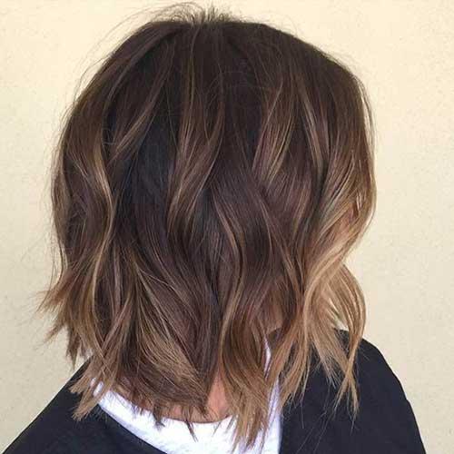 Nice Short Wavy Haircuts 2014