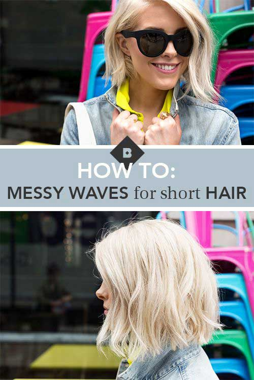Best Short Wavy Hairstyles 2014