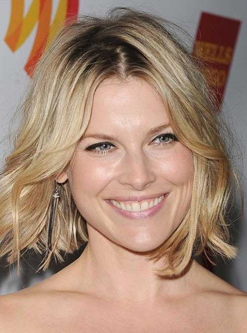 Shorter Bob Hairstyles for Wavy Thin Hair Type