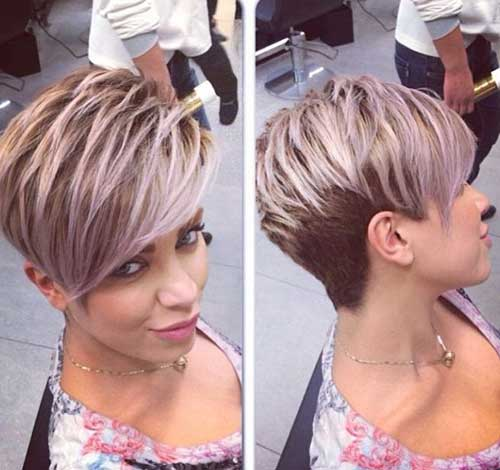Side Swept Pixie Cuts