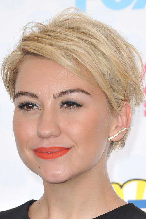 Straight Layered Medium Pixie Haircuts